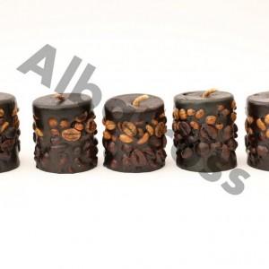 شمع قهوه 5 تایی